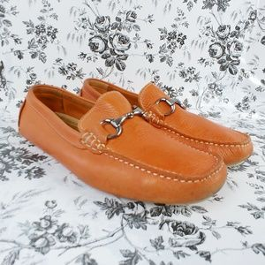 14th & Union leather driving loafers moccasins